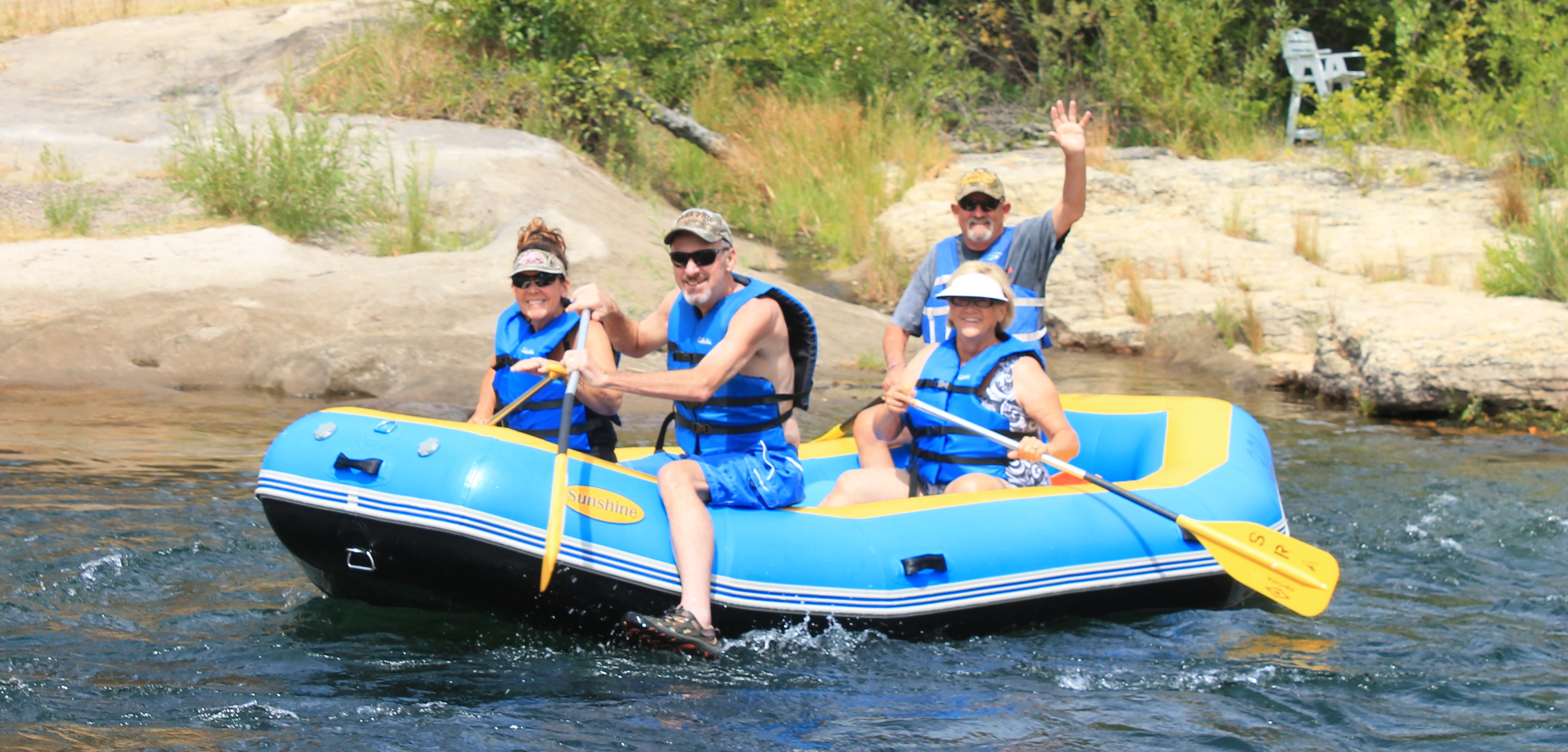 Go river rafting near Central California homes and Central California real estate.