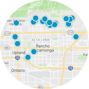 Rancho Cucamonga Real Estate Map Search