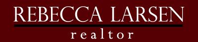 Rebecca Larsen, Realtor - Logo