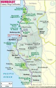 Humbolt County Map