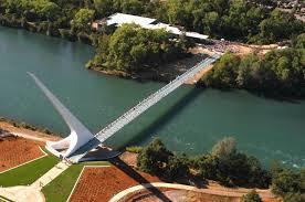 Aerial Sundial Bridge