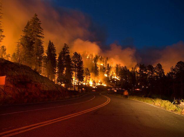 Fire 299 Round Mountain