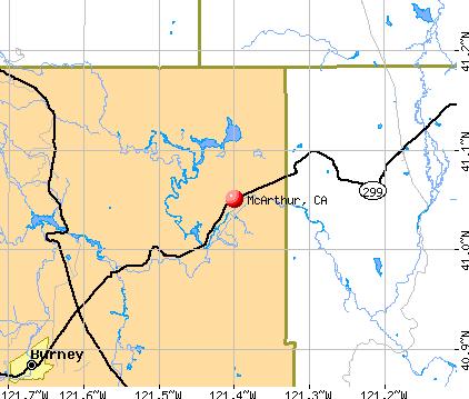 McArthur Map