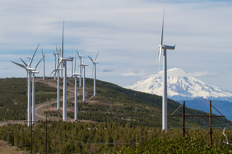 Wind Mills MT Shasta Burney