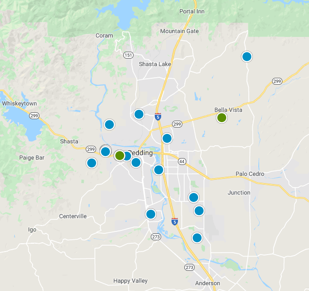 Shasta County Real Estate Map Search