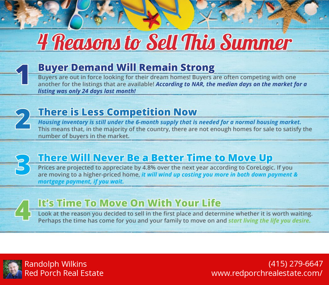 Red Porch 4 Reasons to Sell This Summer