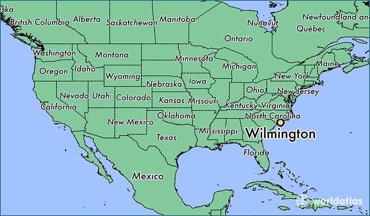 WIlmington Map