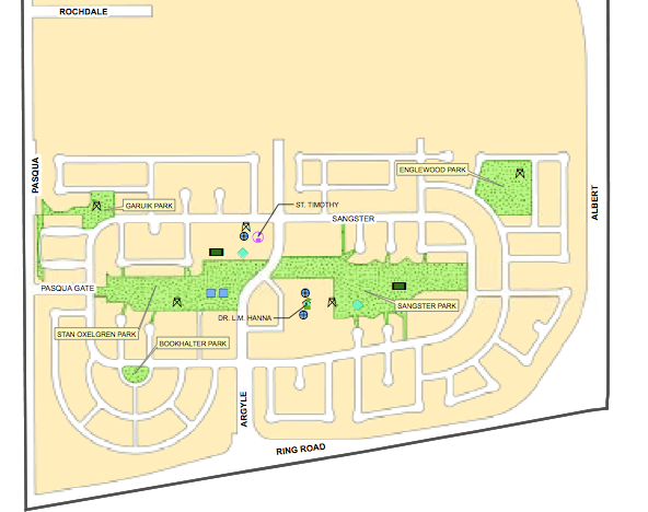 Argyle park map and homes for sale