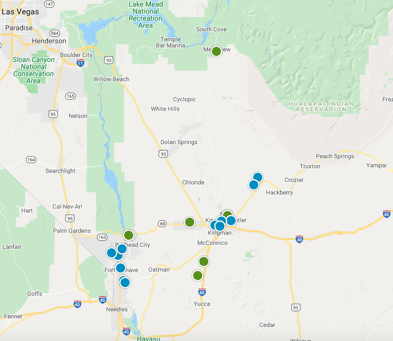 Mohave County Real Estate Map Search