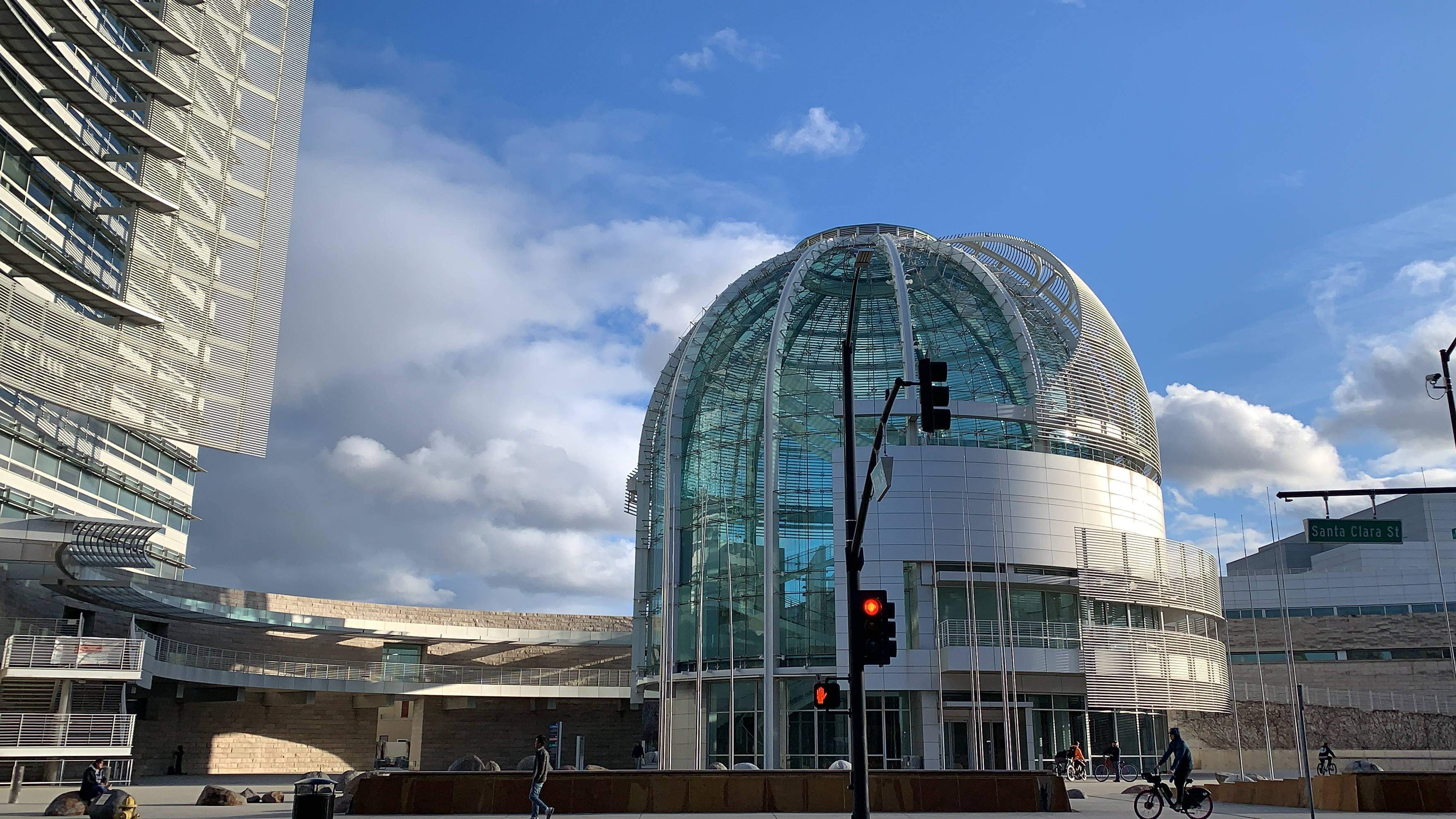 San Jose City building in Downtown San Jose