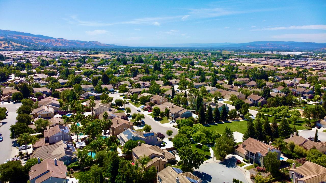 Areal Photo Santa Clara County