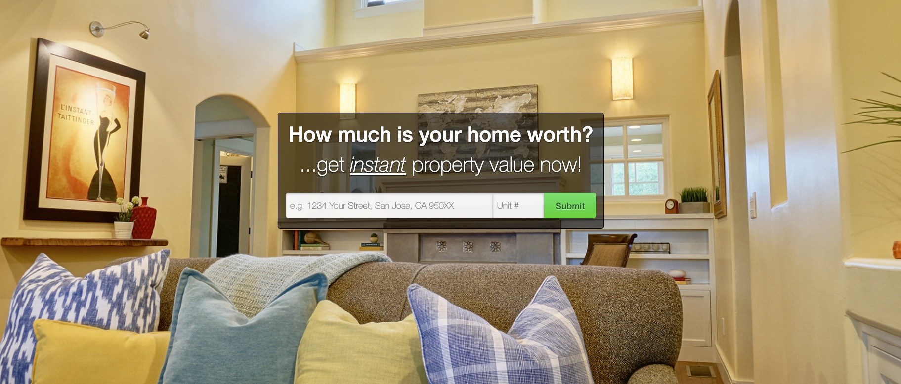 Home Evaluation Page