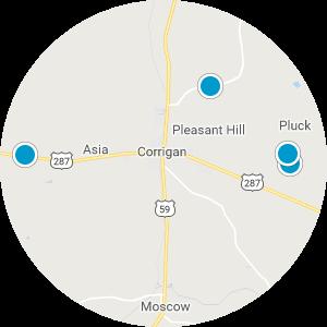 Corrigan Real Estate Map Search