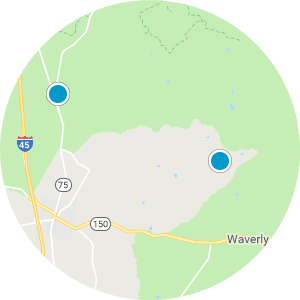 New Waverly Real Estate Map Search