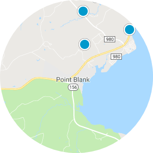 Point Blank Real Estate Map Search