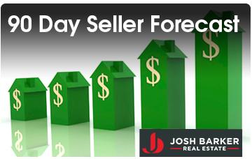 90 day Seller Forecast - Josh Barker Real Estate Advisors