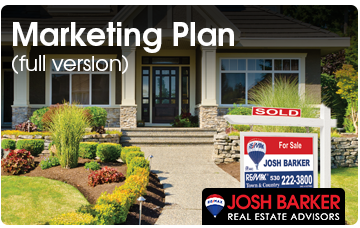 Josh Barker Real Estate Advisors Marketing Plan