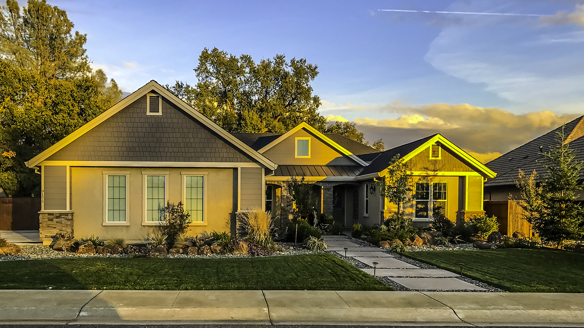 Upscale Custom Homes in Palo Cedro Oaks