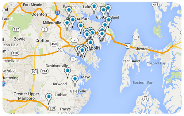 Anne Arundel County Map Search