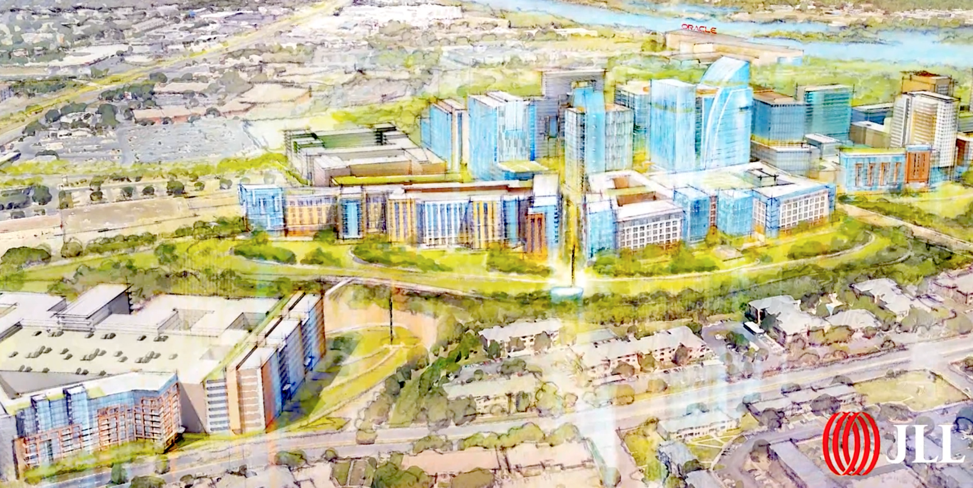 A still from the Project Catalyst promotional video. Photo courtesy of JLL Austin.