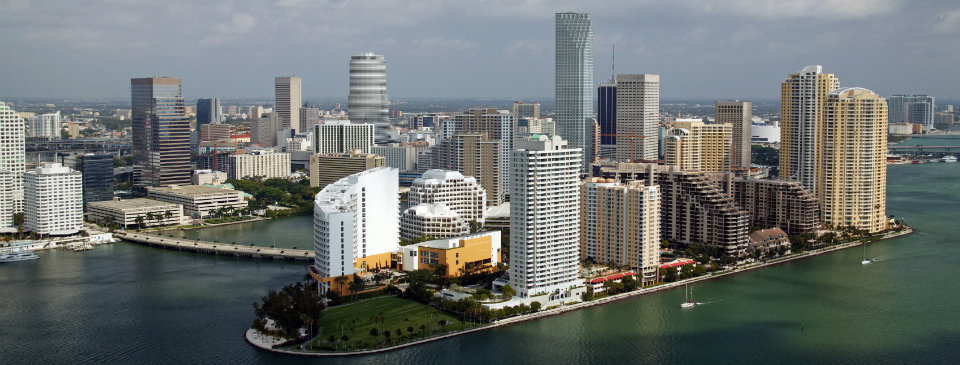 Brickell Aerial View - Miami Real Estate