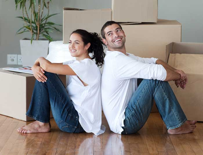 Young Couple with Rexburg Home Loan