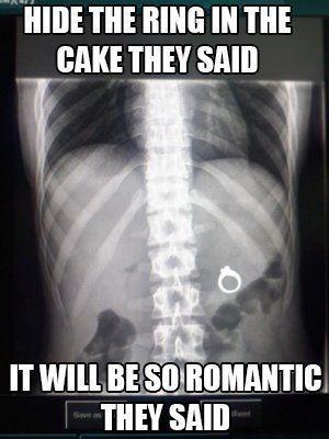 ring in cake