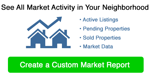 Custom Real Estate Market Report Image with Button
