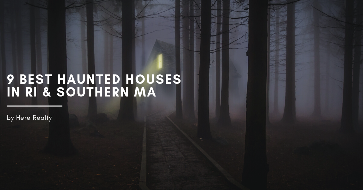 9 Best haunted houses in rhode island and southern massachusetts for fun activities this october and halloween