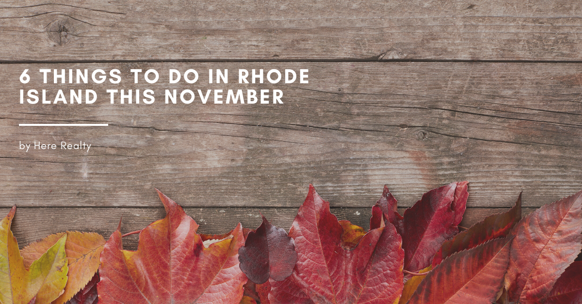 6 things to do in rhode island for november