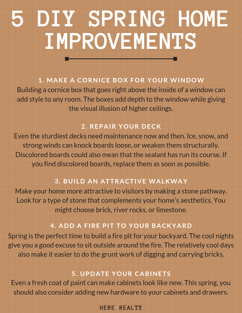 DIY Spring Home Improvements