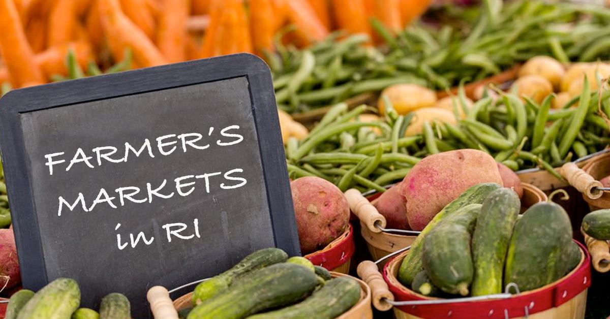 Farmer's Markets in RI
