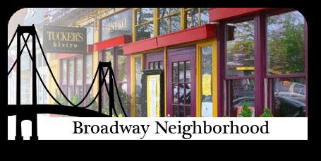 Homes for sale in the Broadway neighborhood in Newport, RI