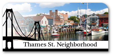 Homes for sale in the Thames St. neighborhood in Newport, RI