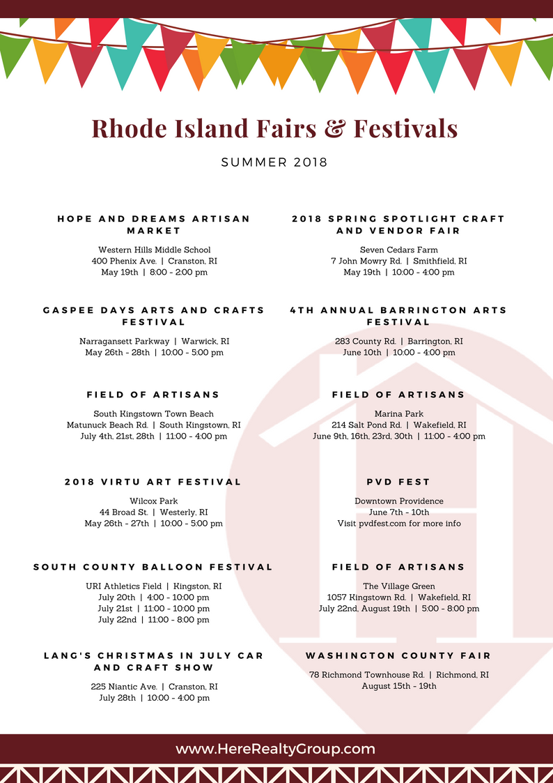 Fairs & Festivals in Rhode Island