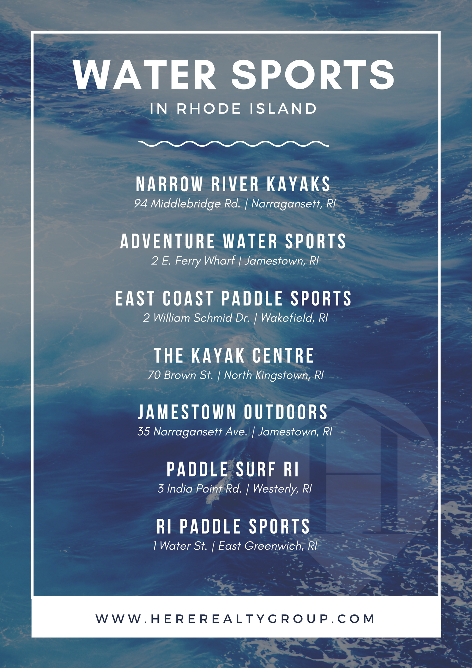 Water Sports in Rhode Island