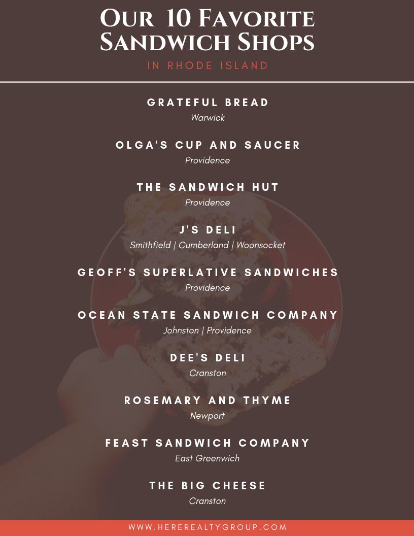 Best sandwich shops in rhode island