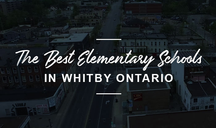 The best elementary schools in Whitby Ontario
