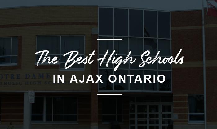 best high school in ajax, ontario