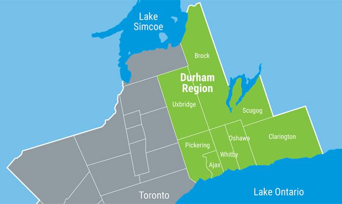 where is durham region
