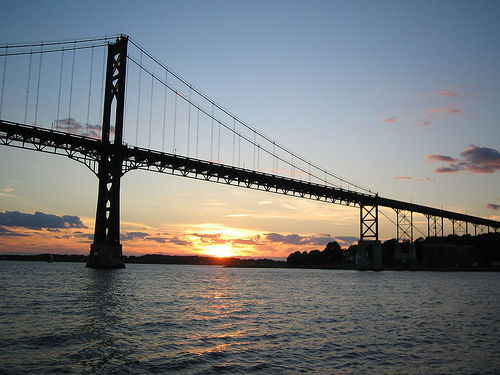 Mount Hope Bridge in Bristol