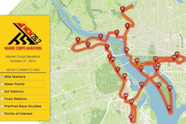 Course Map MCM 2013