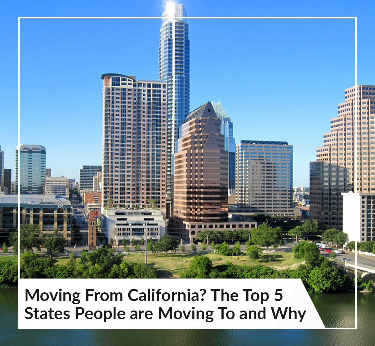 Top 5 States People Are Moving To