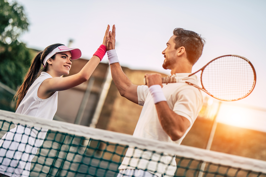 Everyone living in Johns Creek plays tennis at Medlock Bridge Tennis.