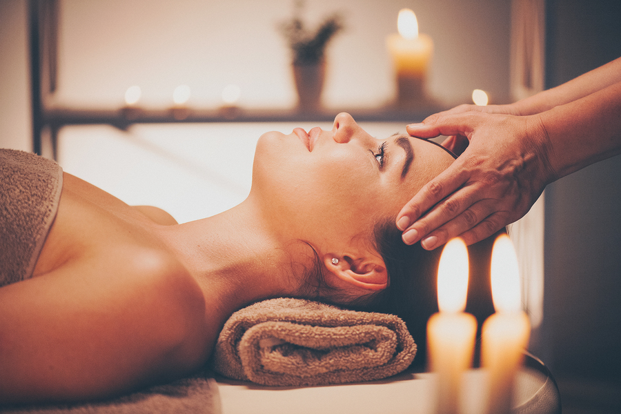 Johns Creek home owners book a massage at Bluefern Spa.