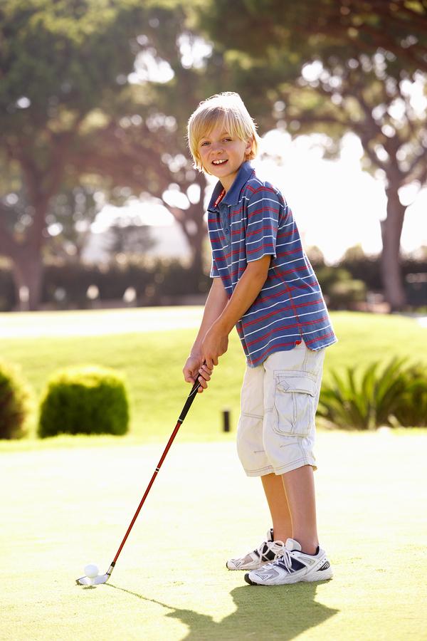 Play golf near Johns Creek homes at RiverPines.
