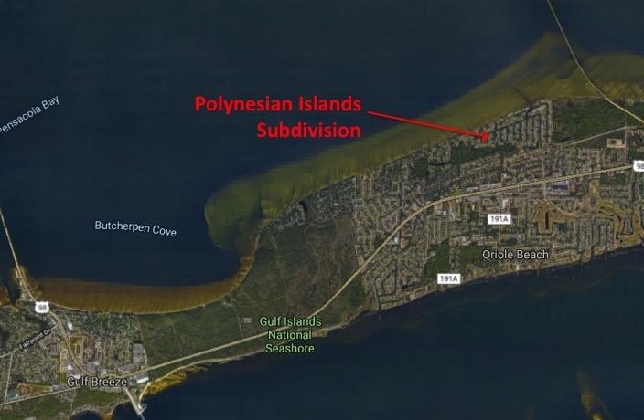 Map Location of Polynesian Islands Subdivision