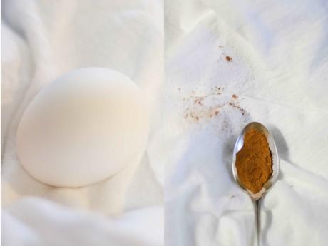 egg and cinnamon