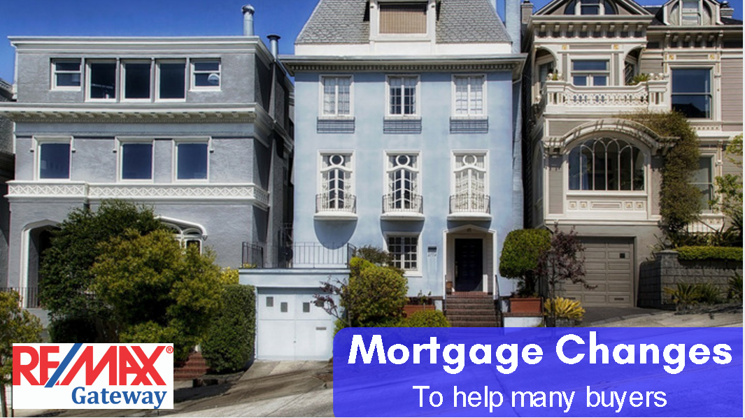 Mortgage changes help buyers