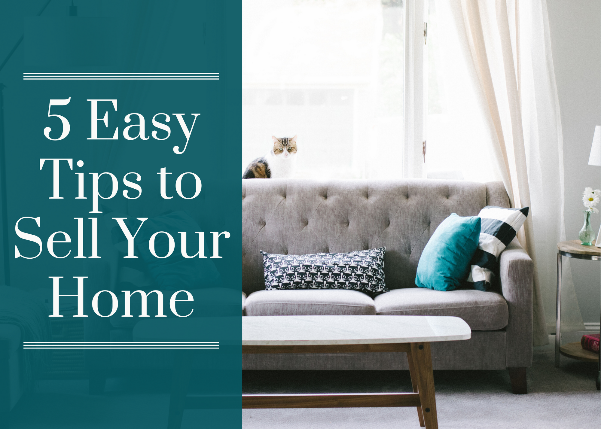 5 Easy Tips to Sell Your Home